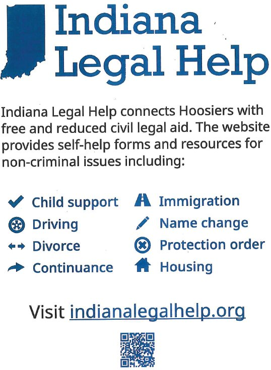Indiana Legal Help